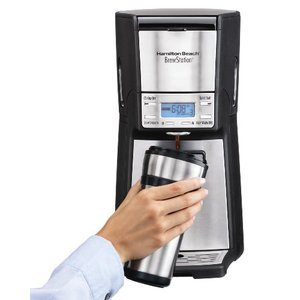 Hamilton Beach Brewstation Summit Ultra 12-Cup Programmable Coffeemaker 48465