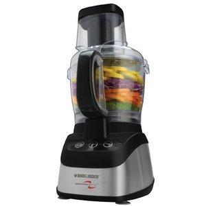 Black & Decker Food Processor & Blender, Wide Mouth Combo