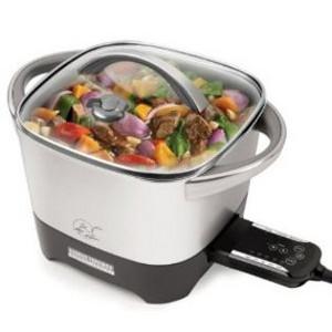 George Foreman Smart Kitchen Multicooker with Intelli-Probe Digital Controls