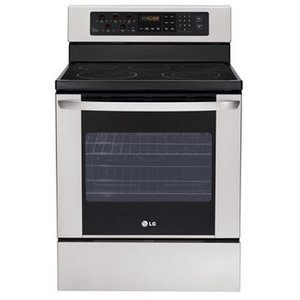 LG Freestanding Electric Range, 5 Elements, 5.6 cu. ft. Self-Clean Oven, Storage Drw