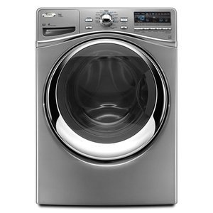 Whirlpool Duet Steam 27 In. Silver Front Load Washer - WFW95HEXL