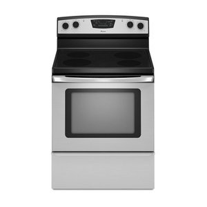 Amana 4.8 -Cubic Foot Electric Range, , Stainless Steel
