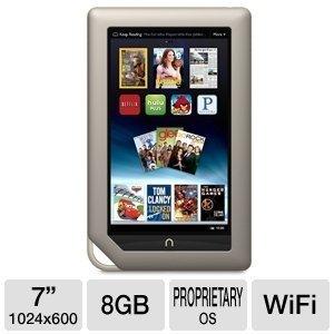 """Barnes & Noble NOOK 7"""" 8GB WiFi Tablet"""