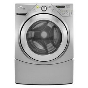 Whirlpool : 4.4 cu. ft. Front Load Steam Washer - Silver