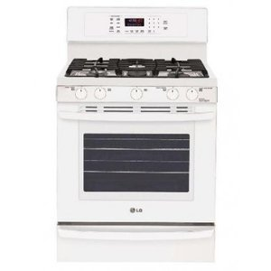 LG 5.4 CF GAS RANGE WITH CONVECTION WHTE