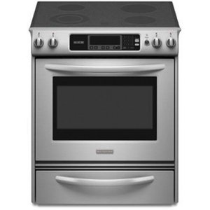 Kitchenaid Thermal Oven Glass Cooktop Front Control Knobs Architect Series II