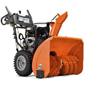 Husqvarna 30-Inch 414cc SnowKing Gas Powered Two Stage Snow Thrower With Electric Start & Power Steering 9619300-73
