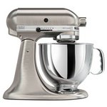 KitchenAid Custom Metallic Series 5-Quart Mixer, Brushed Nickel