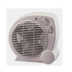 Pelonis Electric Heater Fan - Thermostat Control With 3 Settings