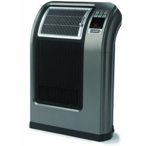 Lasko Cyclonic Room Heater with Remote Control and Fresh Air Lonizer