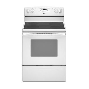 Amana 4.8 Cubic Foot Electric Range, , White