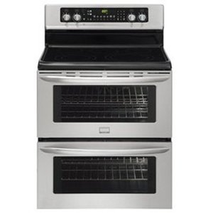 Frigidaire Gallery Freestanding Electric Double Oven Range - Stainless Steel