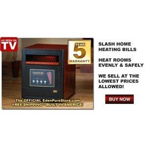 EdenPURE 1000 Infrared Heater 1000