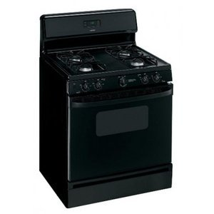 RGB530DETBB 30 in. Free-Standing Gas Range with Sealed Cooktop Burners Simmer Setting Electronic RGB530DETBB