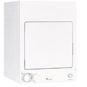 """GE Profile Spacemaker 24"""" Front Load Electric Dryer"""