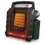 Mr. Heater MH9BX Buddy 4,000-9,000-BTU Indoor-Safe Portable Radiant Heater HET32000