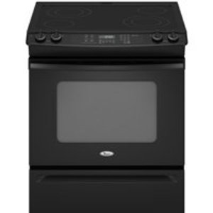 Whirlpool : 30 Electric Range - Black