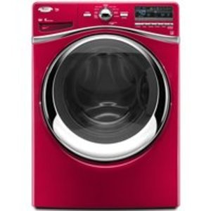 Whirlpool Duet Cranberry Front Load Washer