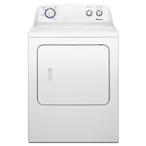 Amana 7.0 cu. ft. Traditional Gas Dryer with Interior Drum Light, , White