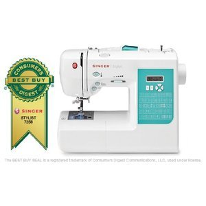 Singer Stylist 100-Stitch Computerized Sewing Machine .CL
