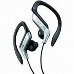 JVC Sports Clip Headphone (Silver)
