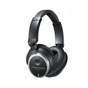 Audio Technica Active Noise-Cancelling Closed-Back Headphones ATH-ANC7B