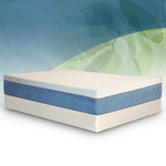 BedInABox.com Tranquility Gel with Natural TENCEL® Memory Foam Mattress