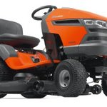 Husqvarna 48-Inch 724cc HP Briggs & Stratton Intek V-Twin Pedal Activated Hydrostatic Transmission Riding Lawn Tractor 960430110
