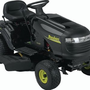 Poulan 42-Inch 19-1/2 HP Briggs and Stratton Riding Lawn Tractor With 6-Speed Lawn Tractor 960120111