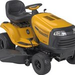 Poulan Pro 42-Inch HP Briggs and Stratton V-Twin Riding Lawn Tractor With Hydrostatic Transmission CARB Compliant