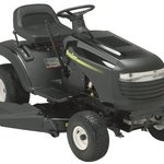 Poulan Lawn Tractor with 38-Inch Steel Deck, 1.5 HP Briggs & Stratton Engine, 5 Speed Transmission and 18-Inch Rear Tires PO14538LT
