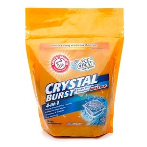 Arm & Hammer Plus OxiClean Crystal Burst Power Paks Laundry Detergent