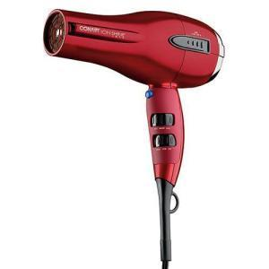 Conair Ion Shine Dryer 1875 Wt Ceramic Red