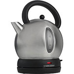 Black & Decker Brushed Stainless Steel Dome Electric Tea Kettle