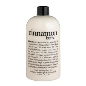 Philosophy Cinnamon Buns Shampoo, Shower Gel & Bubble Bath