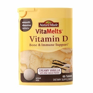 Nature Made VitaMelts Vitamin D Dietary Supplement
