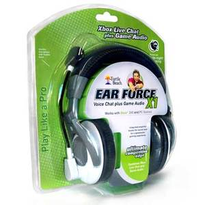 Turtle Beach - Ear Force X1 Headset