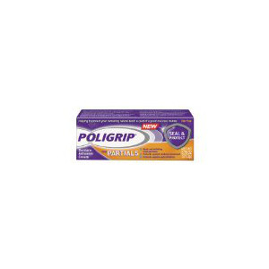 Poligrip Seal & Protect Partial Denture Adhesive Cream