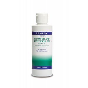 Medline Remedy Basics Shampoo and Body Wash Gel