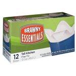 Brawny Essentials Flap-Tie Tall Kitchen Bags