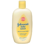 Johnson's Shea & Cocoa Butter Baby Lotion