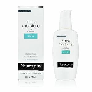 Neutrogena Oil-Free Moisture with Sunscreen SPF 15