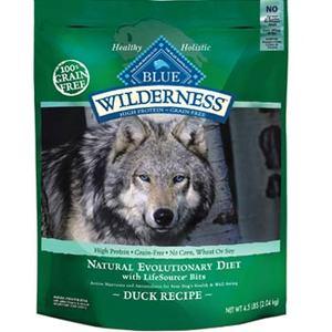 Blue Buffalo Wilderness Adult Duck Recipe Dry Dog Food