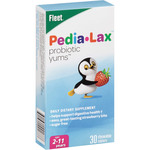 Fleet Children's Pedia-Lax Probiotic Yums Chewable Tablets