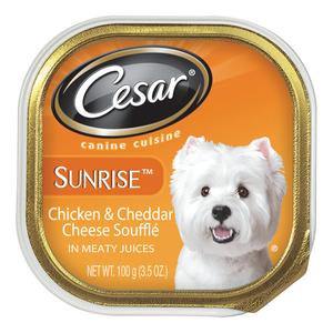 Cesar Sunrise Chicken & Cheddar Cheese Souffle Canine Cuisine