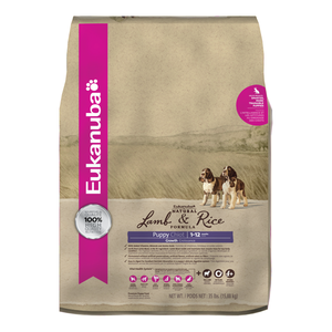 Eukanuba Natural Lamb & Rice Formula Puppy Growth Dry Dog Food