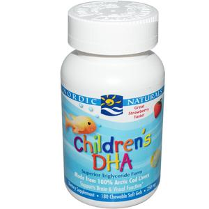 Nordic Naturals Children's DHA Softgel Supplement