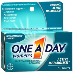One A Day Women's Active Metabolism Multivitamins