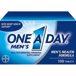 One A Day Men's Health Formula Multivitamin