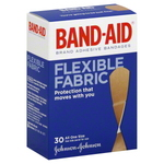 Band-Aid Flexible Fabric Adhesive Bandages (All Sizes)